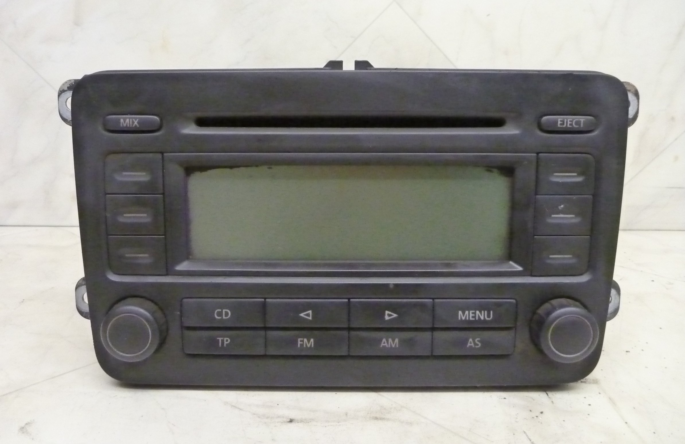 az autoverwertung blaupunkt radio cd 300 1k0035186l vw. Black Bedroom Furniture Sets. Home Design Ideas